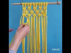 How to macrame square knots by cupcake cutie craft @cupcakecutiecraft. Beginner's macrame patterns coming soon to www.cupcakecutie1.etsy.com.