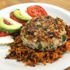 Chicken Burgers & Sweet Potato Hash - The Body Coach