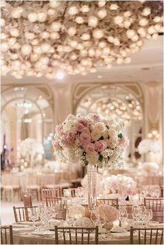 trending tall elegant wedding centerpiece ideas #weddingdecorationselegantmodern