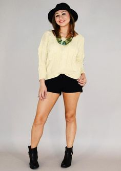 This Cream Jumper is such a great transition piece from Urban Philosophy!