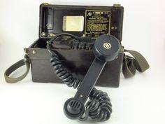 TELEPHONE~Soviet Military Field Telephone  TAP67. Soviet by ContesDeFees, etsy