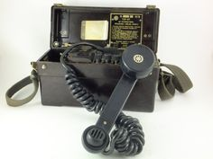 TELEPHONE~Soviet Military Field Telephone  TAP67. Soviet by ContesDeFees, etsy