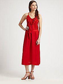 Joie - Ruffle Dress