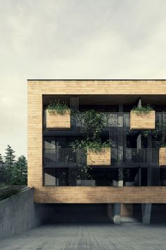 Amazing Apartment Building Facade Architecture Design 22