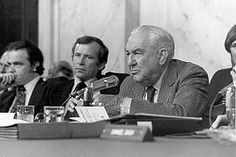 WATERGATE: Senate Select Committee on Presidential Campaign Activities, headed by Senator Sam Ervin of North Carolina, begins televised hearings on the escalating Watergate affair on May 17, 1973. This year marks the 40th anniversary of the Watergate hearings.