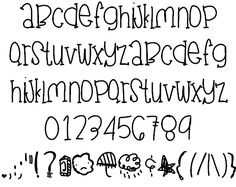 JuneGloom font by Des - FontSpace