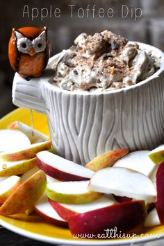 Apple Toffee Dip Recipe