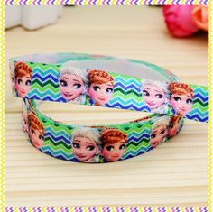 5/8'' Free shipping Fold Over Elastic FOE cartoon printed headband headwear hair band diy decoration wholesale OEM B942