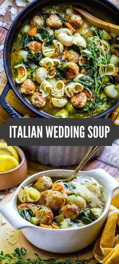 Comfort Foods, Comfort Food Recipes, Healthy Comfort Food, Easy Soup Recipes, Cooking Recipes, Italian Food Recipes, Noodle Recipes, Health Soup Recipes, Healthy Crockpot Soup Recipes