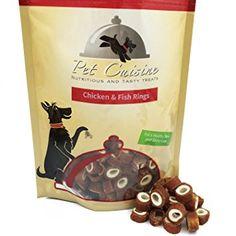 Pet Cuisine Dog Treats Puppy Chews Training Snacks,Chicken & Fish Rings