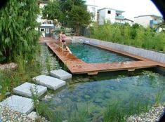 61+ Trendy Backyard Pool Garden Swimming Ponds #garden #backyard
