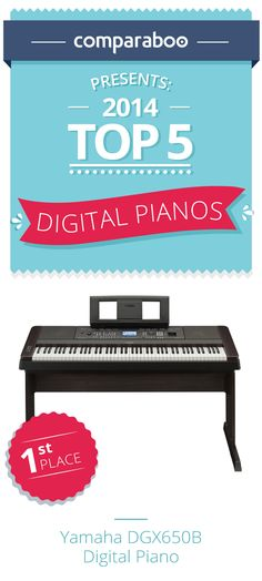 Shopping for a piano? A keyboard? Why not make it digital? Here's a list of the top 10 digital pianos on the market. Comparaboo analyzes thousands of product reviews so you can find the best quality products. #piano http://www.comparaboo.com/digital-pianos