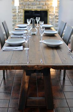 Farmhouse Tables On Pinterest Farmhouse Table Farm House Tables And