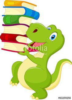 reading dinosaur royalty free stock images library 2018 srp rh pinterest com Dinosaur Clip Art The Enourmous Egg Clip Art