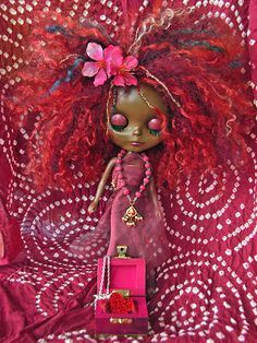 INCREDIBLE Blythe doll reroors with mohair and alpaca