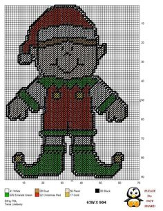 ELF by TDL - CHRISTMAS WALL HANGING