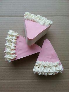 Jabón porcion de tarta