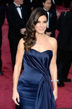 Sandra Bullock Oscars hair 2014