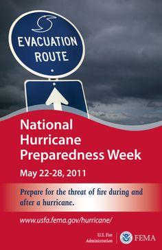 Hurricane preparedness and fire safety