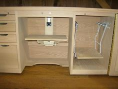 14 best sewing cabinets images sewing cabinet sewing closet rh pinterest com