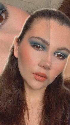 Creative Makeup Looks, Simple Makeup, Makeup Art, Eye Makeup, Urban Decay Eyeshadow, Grunge Makeup, Makeup For Brown Eyes, Summer Makeup, Makeup Inspiration