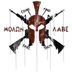 Molon Labe Modern Spartan by USAMM