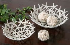 These starfish bowls