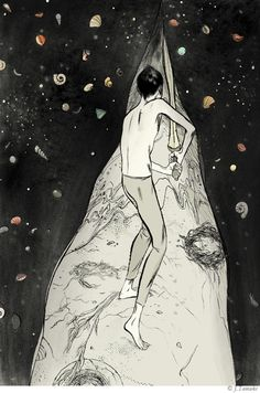 Illustrator and Cartoonist Jillian Tamaki - Illustration Friday Illustration Friday