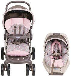 Graco Stylus Travel System Stroller-Elyse: Gabbie gotta have pink!