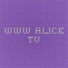 www.alice.tv Alice, Video, Tv, Television Set, Television, Tvs