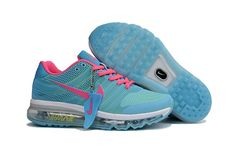 Nike Air Max 2017 Running Women Shoes Blue Pink