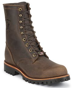 Chippewa Chocolate Apache Steel Toe Lace Up Boot 8 Inch Men Boots 20086 American Made Boots, Chippewa Boots, Justin Boots, Boots Online, Steel Toe, Cool Boots, Lace Up Boots, Timberland Boots, Fashion Boots