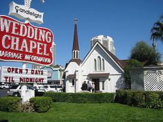This Is Where I Got Married In 1997 Candlelight Wedding Chapel Las Vegas
