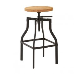 Bar Stool - Ash/Black | Fifty-Five South