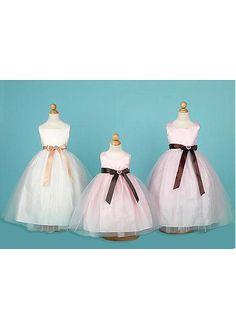 Feminine ball gown white Flower Girls