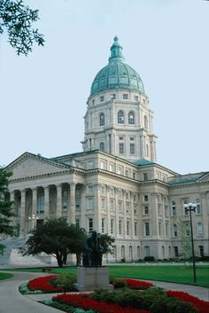 TOPEKA:  The Kansas Historical Society provides historic tours of the building Monday through Friday. Reservations are strongly encouraged
