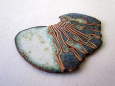 copper wrapped with enamel