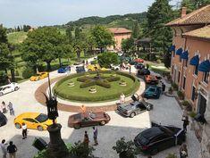 8 luglio 2018 - tappa ufficiale del tour BullDays, Lamborghini Club Italia  --- #CastellodiSpessa #BullDays #Lamborghini #LamborghiniClubItalia #Tour2018