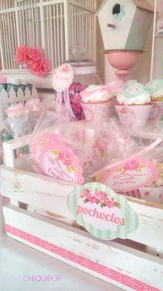 Pajaritos   CatchMyParty.com Cumpleaños Shabby Chic, Shaby Chic, Unicorn Birthday, 3rd Birthday, Birthday Parties, Ideas Bautismo, Fiesta Party, Margarita, Baby Shower