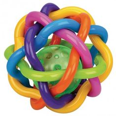 Babybold m. Rangle fra Playgro - Bendy Ball
