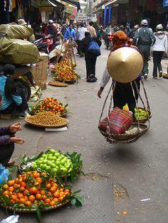 Street Market - Hanoi,