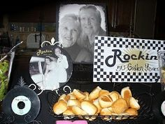 pinterest party ideas, 60 th anniversary | Cool 50th anniversary party idea | 60th Wedding Anniversary Ideas