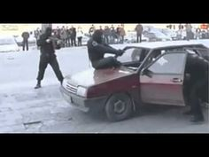 Only In Russia #1 The Ninja Swat Cop - YouTube