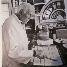 Furlow Gatewood making cheese straws
