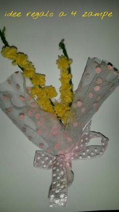 Handmade mimosa, festa della donna