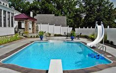 Someday I will have a swimming pool in my back yard! All paid for in cash!