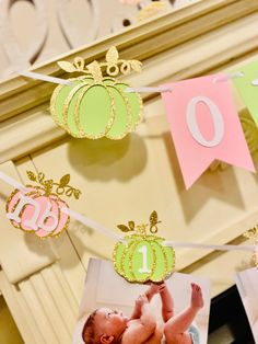 Excited to share this item from my #etsy shop: Pumpkin Birthday decorations, Our Little Pumpkin is turning One, 1st birthday Girl , Pumpkin Girl first Birthday Birthday Photo Banner, 1st Birthday Banners, 1st Birthday Photos, Pink And Gold Birthday Party, Gold First Birthday, 1st Birthday Girls, Pumpkin 1st Birthdays, Pumpkin Birthday Parties, First Birthdays