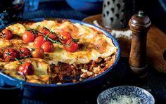 Lasagne melanzane parmigiana