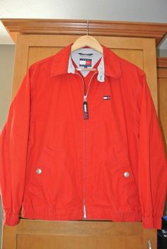 AALIYAH COSTUME Vintage 90s TOMMY HILFIGER Red Blue Jacket SEE MY OTHER LISTINGS