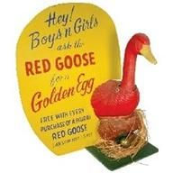 """""""Half the fun of having feet is Red Goose Shoes."""""""